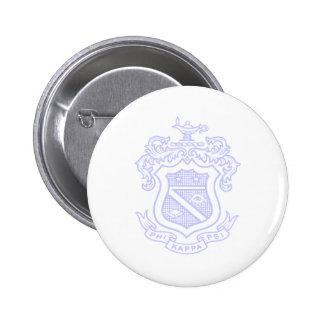 Filigrana del escudo de PKP Pin Redondo De 2 Pulgadas
