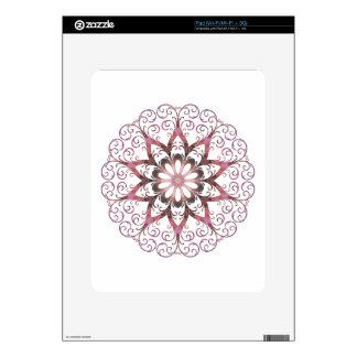 Filigree Ametrine Healing Crystal Mandala iPad Skins
