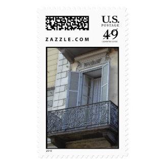 Filigree Balcony Stamp