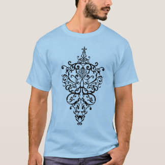 Filigree black T-Shirt