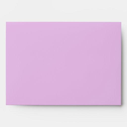 Filigree Butterfly Envelope in Purple