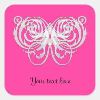 Filigree Butterfly Pretty Sticker