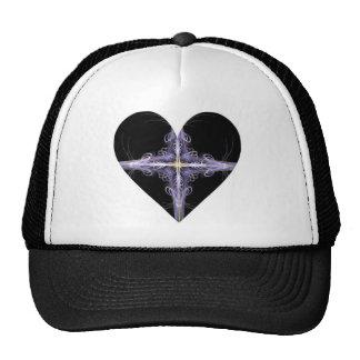Filigree Design Fractal Art Heart Hats