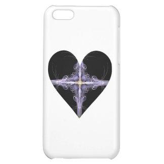 Filigree Design Fractal Art Heart iPhone 5C Case