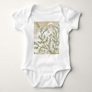 Filigree Ferns Baby Bodysuit