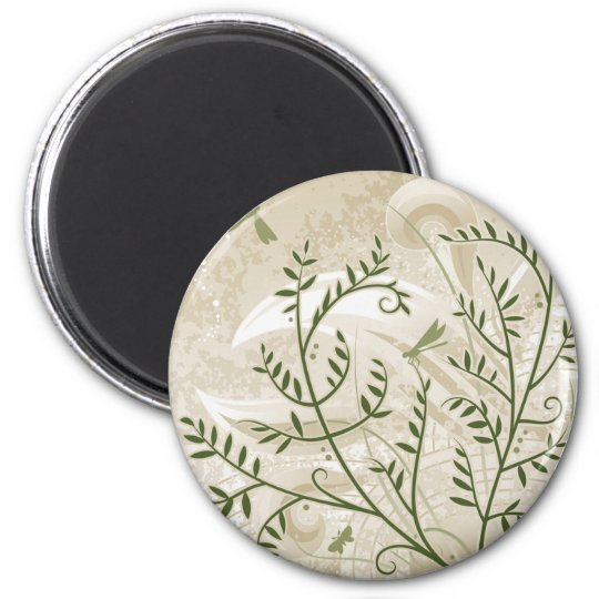 Filigree Ferns Magnet