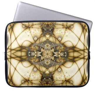 Filigree Fractal Laptop Sleeve