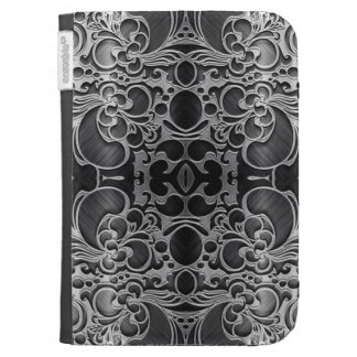 Filigree Graphite Kindle Covers