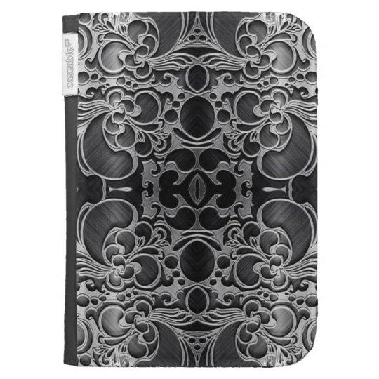 Filigree Graphite Kindle Covers