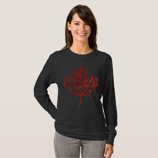 Filigree Maple Leaf T-Shirt