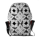 Filigree Patterns Messenger Bags