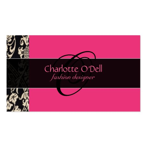Black and pink business card template 28 images girly moustache black and pink business card template by filigree pink black business card template zazzle cheaphphosting Gallery