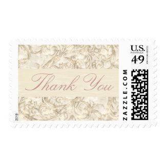 Filigree Save the Date Stamp