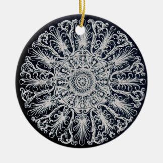 Filigree Victorian Medallion Ornament