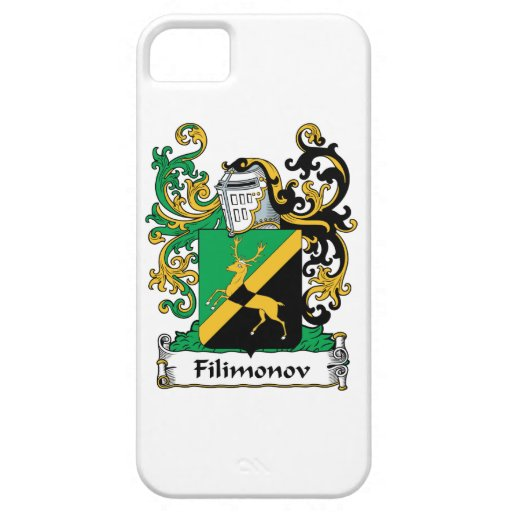 Filimonov Family Crest iPhone 5 Covers