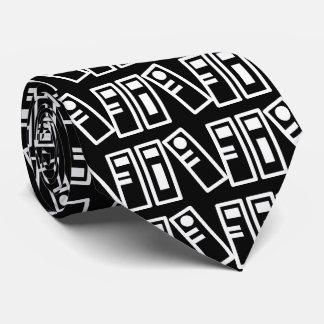 Filing Books Symbol Tie