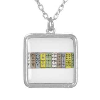 Filing Cabinets Cartoon Silver Plated Necklace