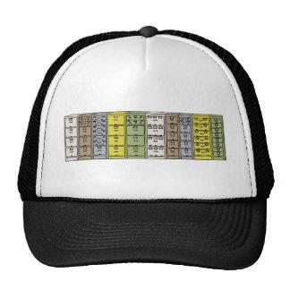 Filing Cabinets Cartoon Trucker Hat