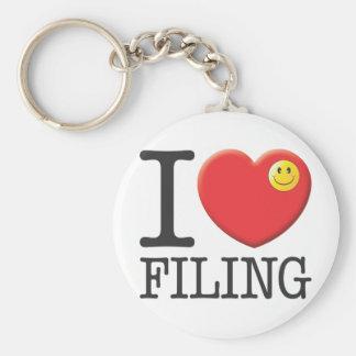 Filing Keychain