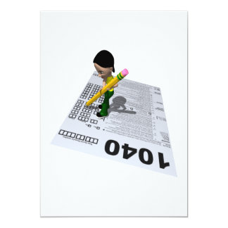 Filing Taxes Card