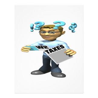 Filing Taxes Flyer