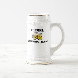 Filipina Drinking Team Stein Mug