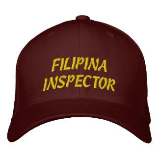 FILIPINA INSPECTOR HAT