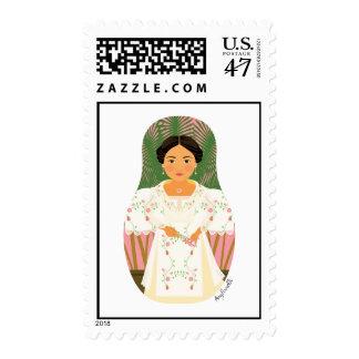 Filipina Matryoshka Stamps