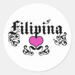 Filipina Pegatinas