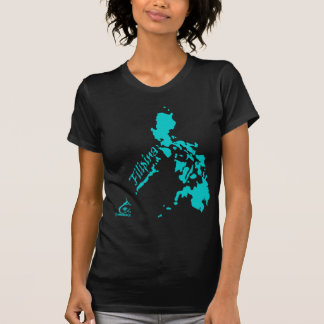 Filipina Philippine Islands Teal Shirts
