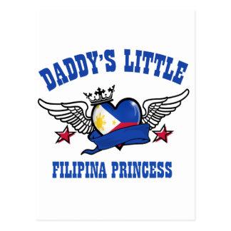 Filipina Princess Postcard