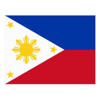 Filipinas - bandera filipina postal