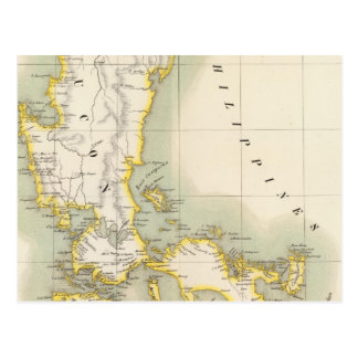 Filipinas Oceanía ningunos 4 Tarjeta Postal