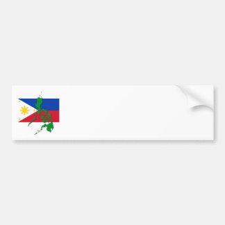 Filipinas Pegatina Para Auto