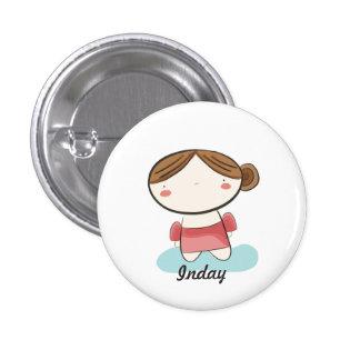 Filipiniana Cuties Collectible #1 Pinback Button