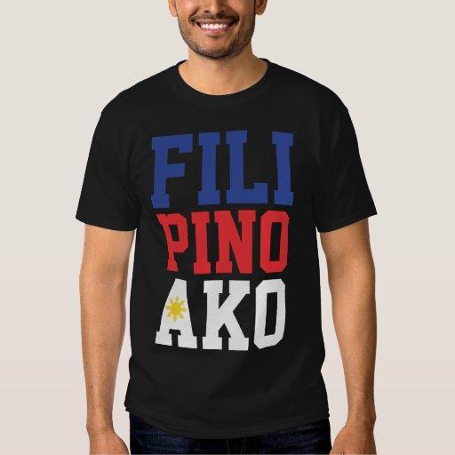 Filipino Ako (Front & Back) T-Shirt