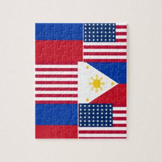 FILIPINO-AMERICAN JIGSAW PUZZLE