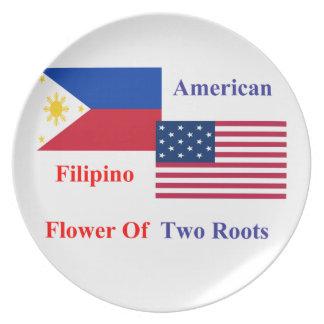 Filipino-American Dinner Plates