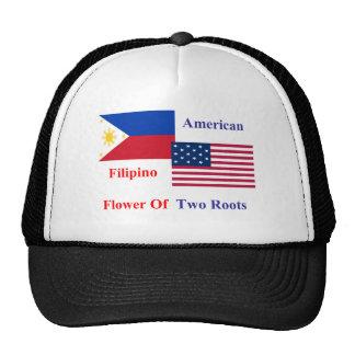 Filipino-American Trucker Hat