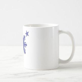 Filipino Basic Sun and Stars - Blue Coffee Mug
