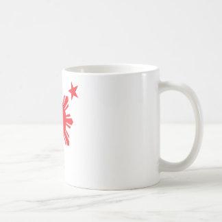 Filipino Basic Sun and Stars - Red Mugs