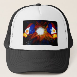 FILIPINO BOXER - BOXING PRIDE OF THE PHILIPPINES TRUCKER HAT