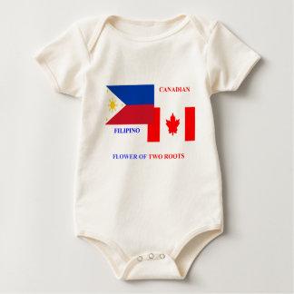 Filipino-Canadian Baby Bodysuit