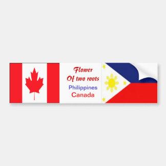 Filipino-canadian bumper stickers