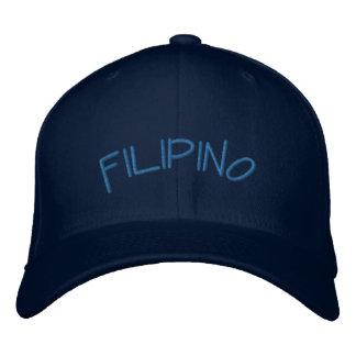 Filipino - Embroidery Embroidered Baseball Caps