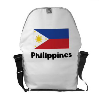 Filipino Flag Courier Bag