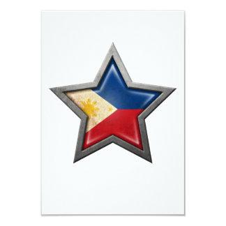 Filipino Flag Star Card