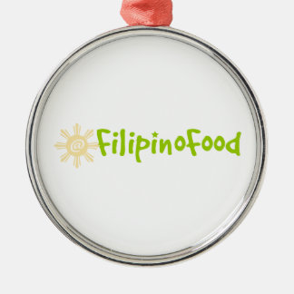 Filipino Food Ornament
