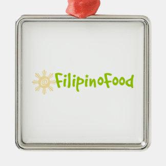 Filipino Food Christmas Ornaments