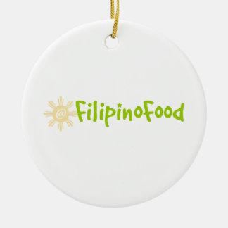 Filipino Food Christmas Tree Ornaments